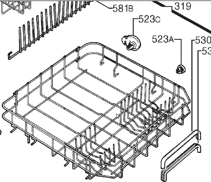 besteckk rbe geschirrk rbe korbrollen massinger. Black Bedroom Furniture Sets. Home Design Ideas