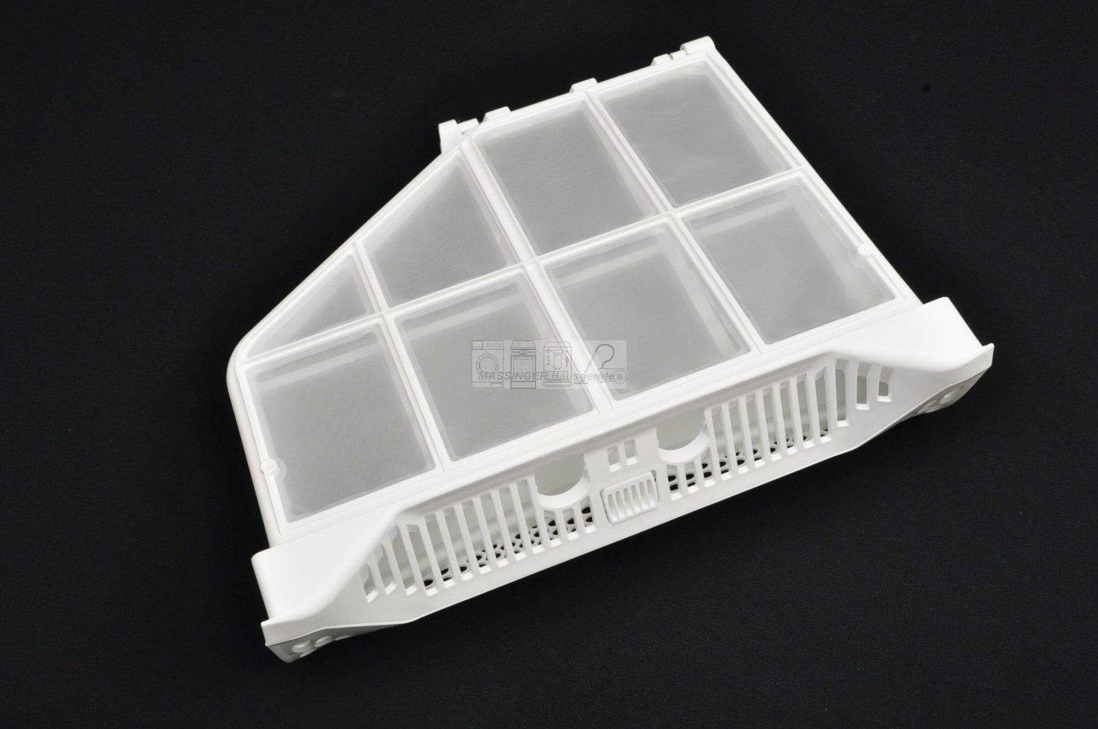 Flusensieb filtertasche ausklappbar für trockner