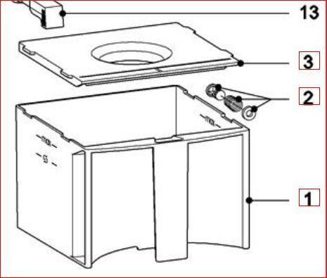 miele cva wasser tank ventil kaffee vollautomat reparatur kit. Black Bedroom Furniture Sets. Home Design Ideas