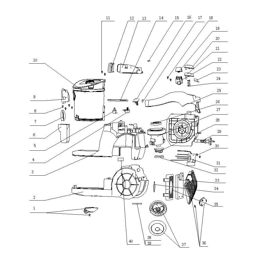 Ersatzteilliste Fur Aeg Electrolux Viva Spin Avs7481 Pnc900081775