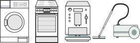 aeg privileg u a backofen dichtung f r pyrolyse selbstreinigung. Black Bedroom Furniture Sets. Home Design Ideas