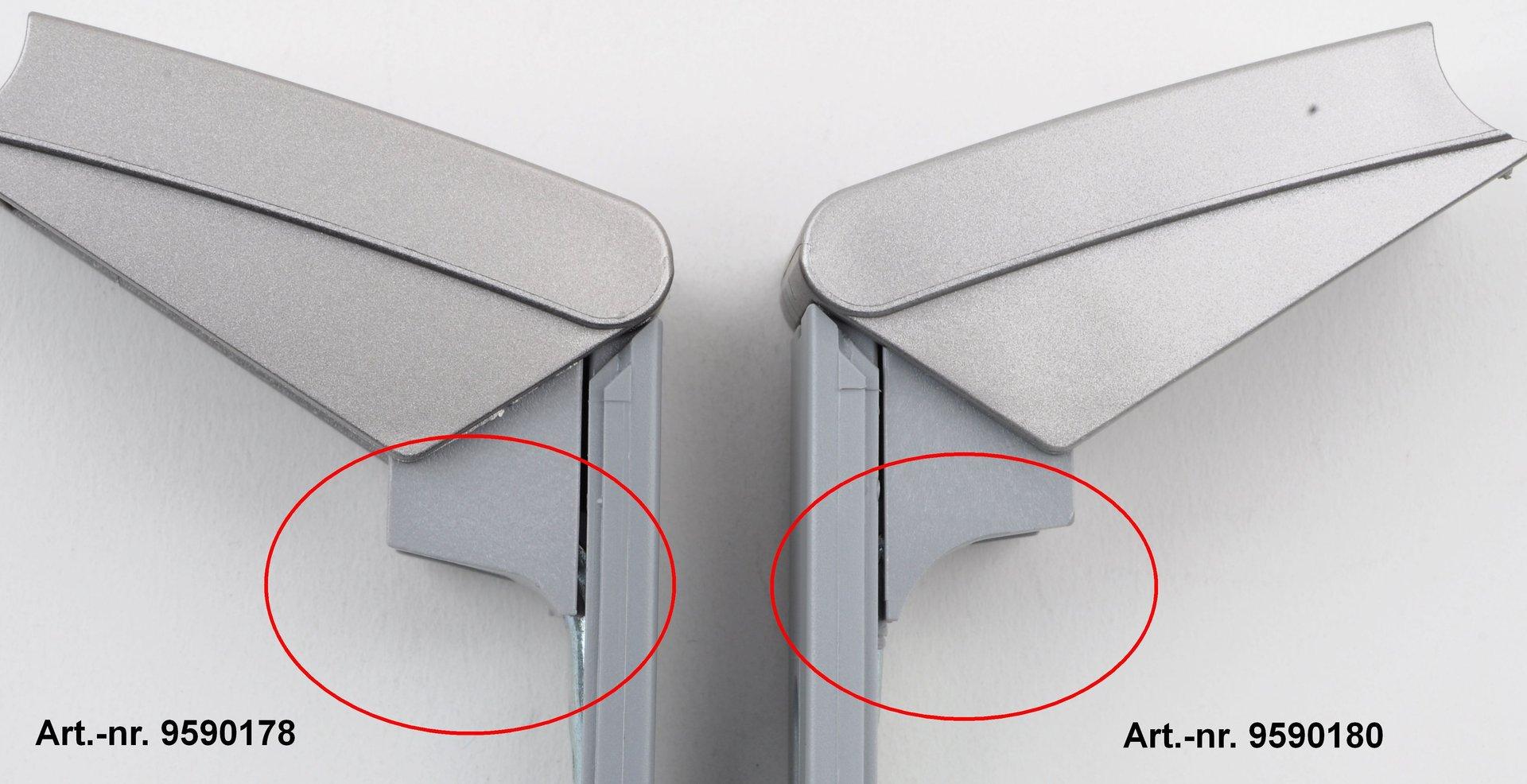 Liebherr Kühlschrank Edelstahl : Liebherr türgriff scharnier kühlschrank original rep. set 9590178