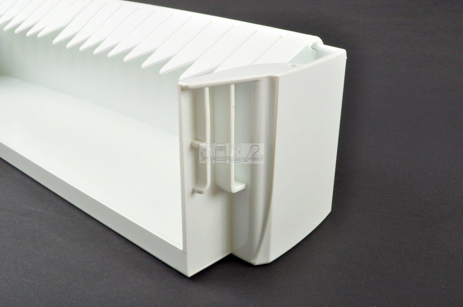 Zanker Flaschen Halter Tür Fach 440mm weiß Kühlschrank 2251279010