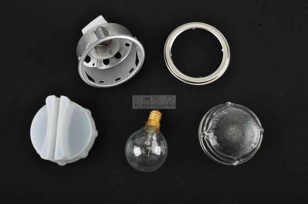 Bosch siemens neff backofen lampe beleuchtung komplett