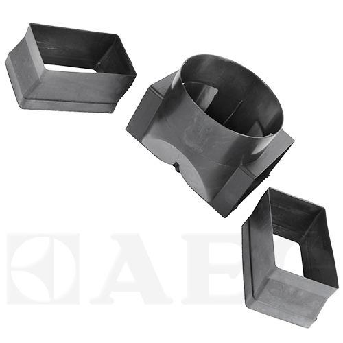 4055019824 abluft verteiler links rechts dunstabzugshaube aeg. Black Bedroom Furniture Sets. Home Design Ideas