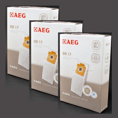 5 Filtertüten 20 Staubsaugerbeutel AEG Original Gr