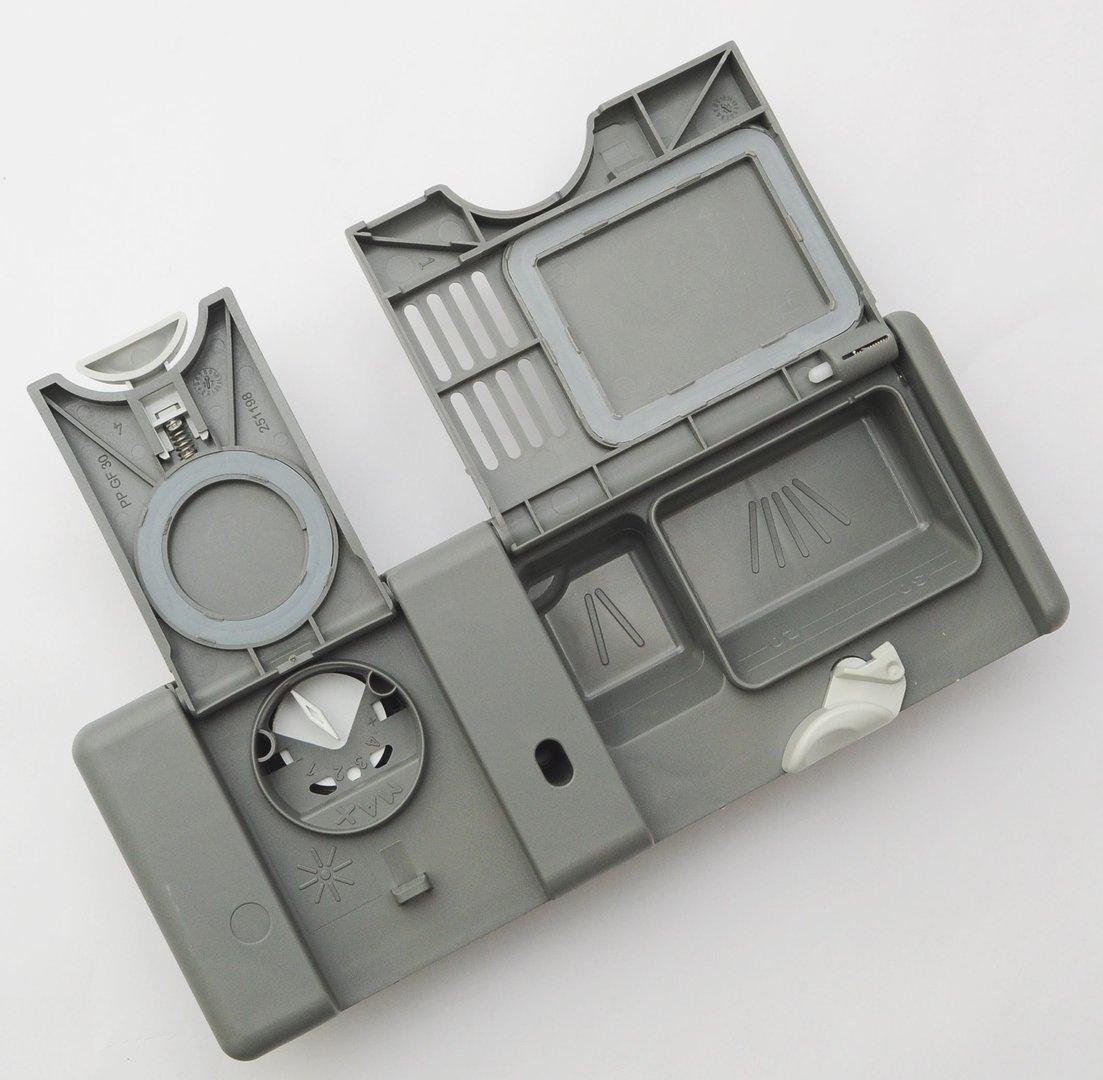 aeg dosiereinheit f r sp lmaschine sp lmittel tabs u klarsp ler. Black Bedroom Furniture Sets. Home Design Ideas