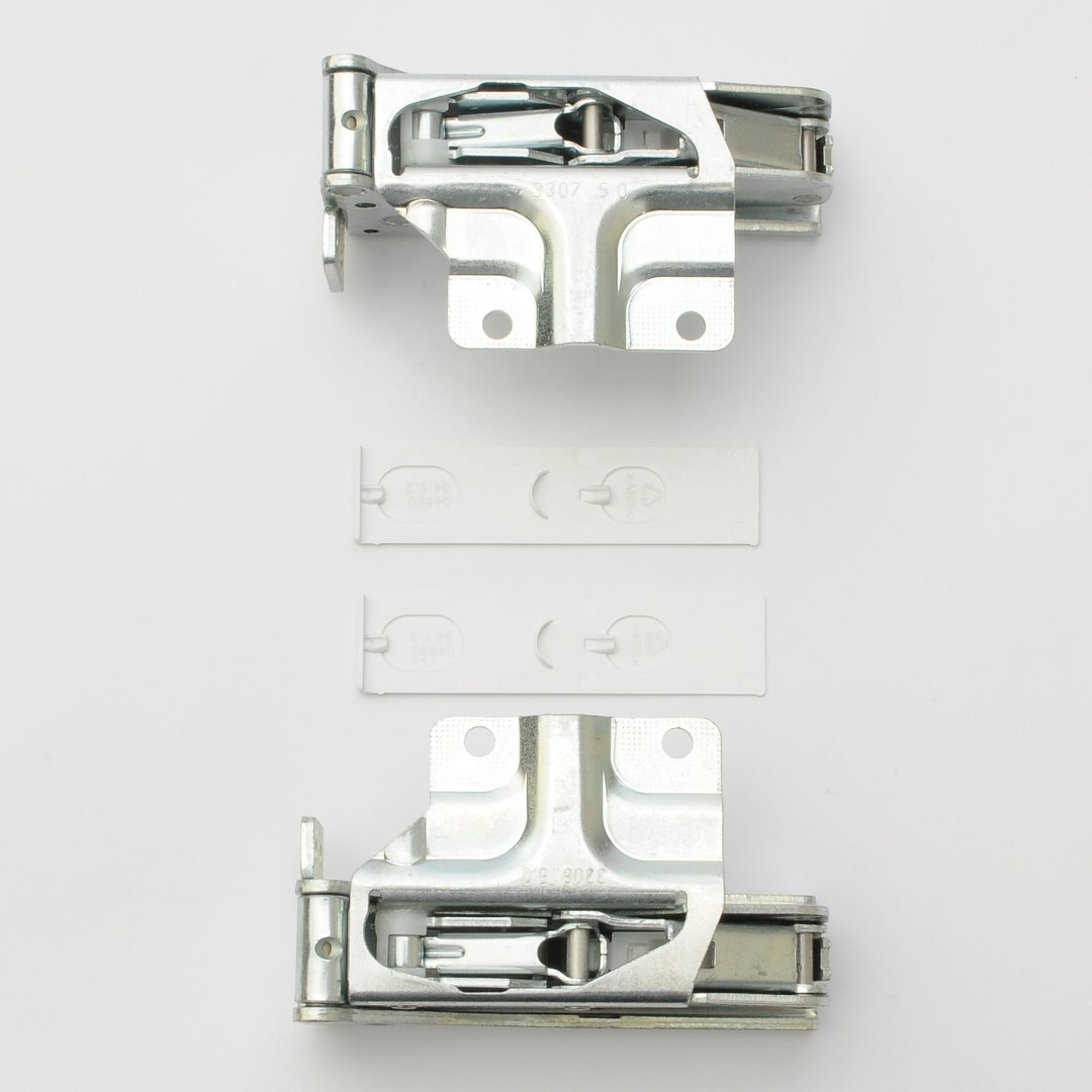 Miele Kühlschrank Türscharnier Einbau Festtüre 2 Stück 5546050