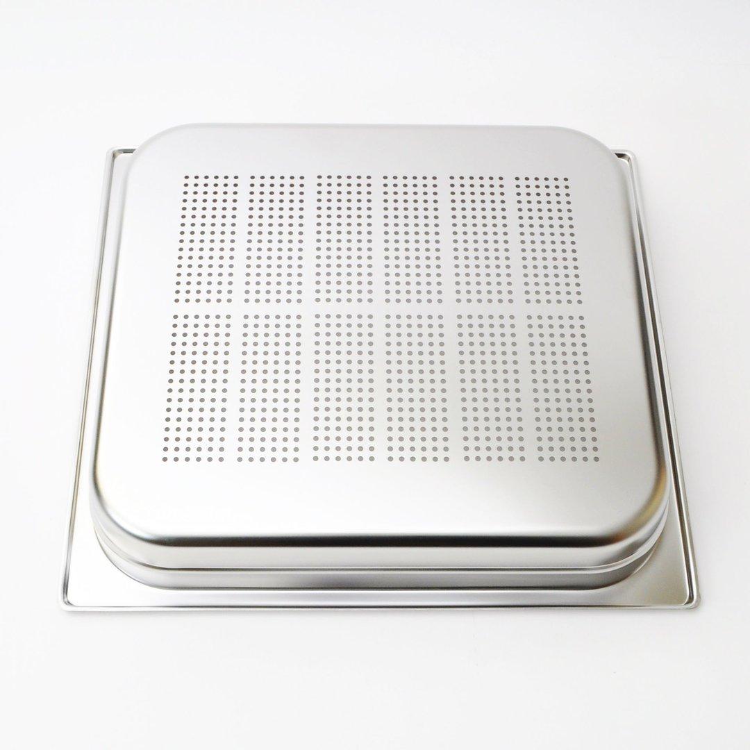 AEG Fettpfanne u Lochblechbehälter für Dampfgarer