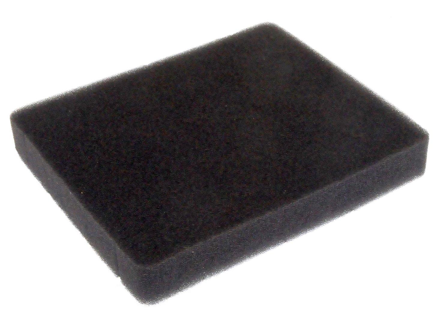 AEG Schwamm Schaumstoff Filter 140x115x20mm für Staubsauger